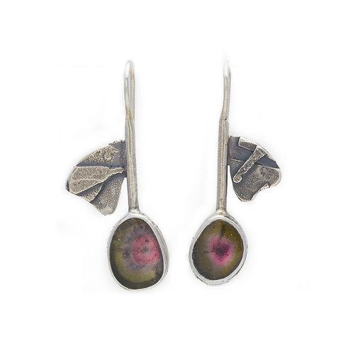 Tourmaline Petal Earring
