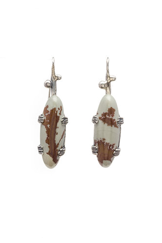 Jasper and Sage Earrings