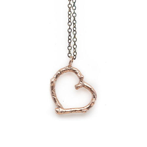 Branch Heart necklace