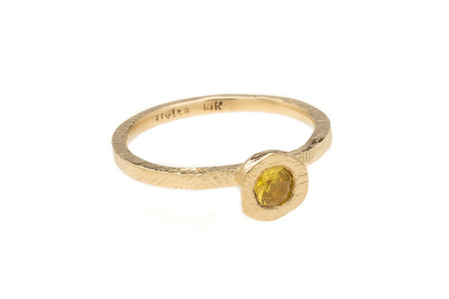 Yellow Sapphire Orion Ring