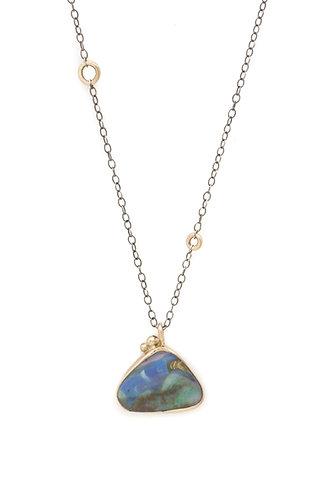 Sky Scene Opal Pendant