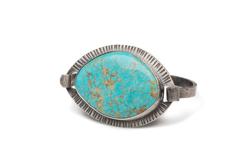 Morenci Turquoise Sun Ray Bracelet