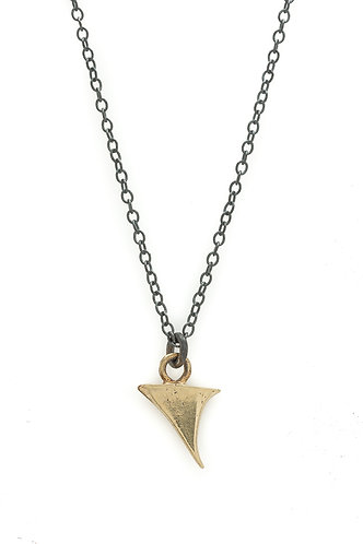 14k Gold Thorn Necklace