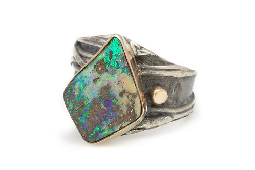 Deep Sea Shimmer Ring
