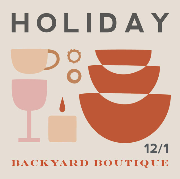 Holiday Backyard Boutique