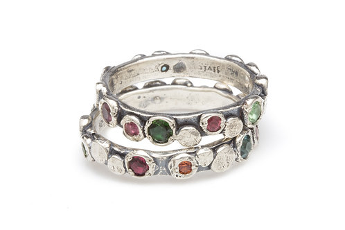 Tourmaline Paris Rings