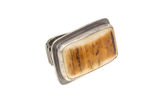 Fossil Ivory Ring