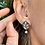 Thumbnail: Leaf Earring with Pearl