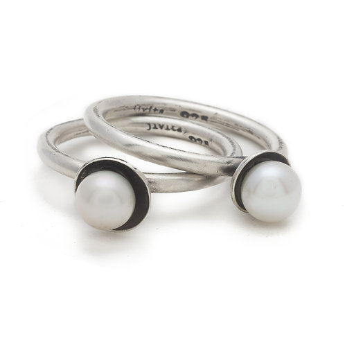 Pearl Stacking Ring