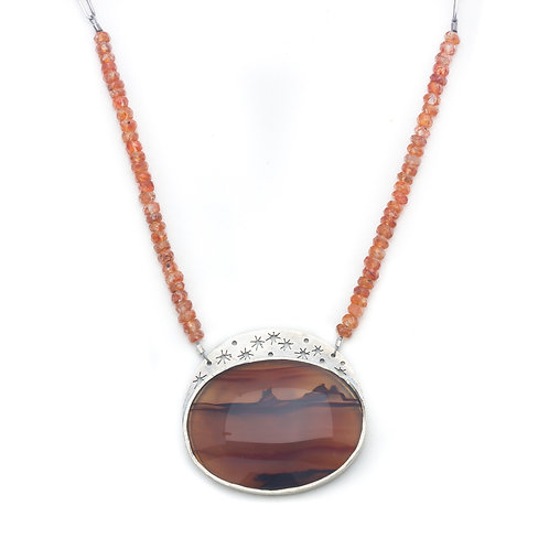 Sunset in the Desert Necklace