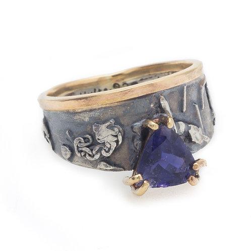 Iolite Garden Ring