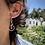 Thumbnail: Snake Earrings with Tzavorite