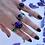 Thumbnail: Iolite Garden Ring