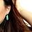 Thumbnail: Turquoise Moon Earrings