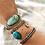 Thumbnail: Kingman Turquoise Bracelet