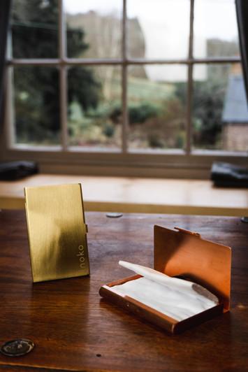 Copper and Brass Inoka Cases