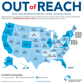 "New report on high rents costs shows housing remains ""Out of Reach"" for Oregonians"