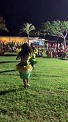 Our Dancers performing a Tahitian Dance