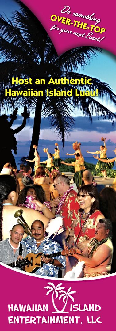 Hawaiian Island Entertainment Brochure 1 of 4