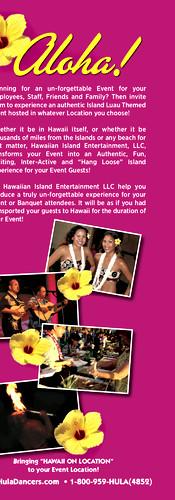 Hawaiian Island Entertainment Brochure 4 of 4