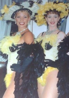 Jo Jones-Burton & Katie Milton (Danny La Rue Show 1995)
