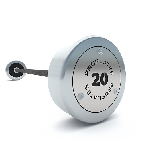 CALIBRATED FIXED STRAIGHT BARBELL