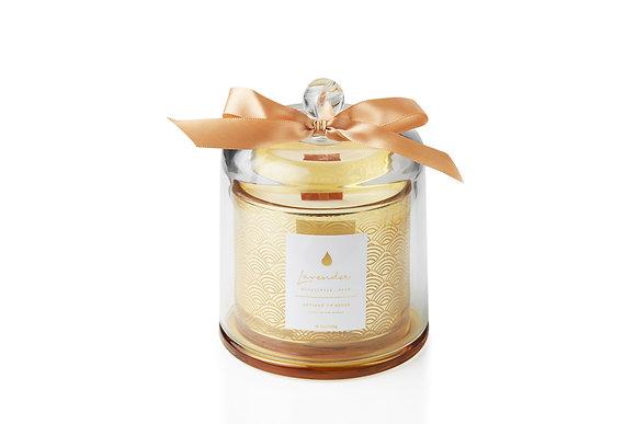 Lavender . Eucalyptus . Sage Glass Dome Candle