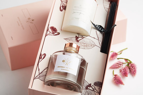 Luxury Diffuser and Candle Gift Set