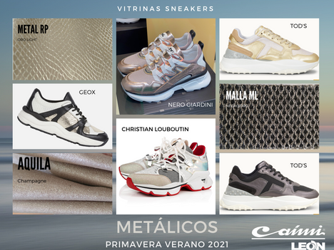 Sneakers Metálicos PV21