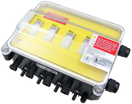 jA1 solar DC combiner box
