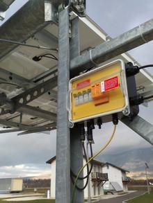 jA2 solar combiner box - Feb. 19, 2014