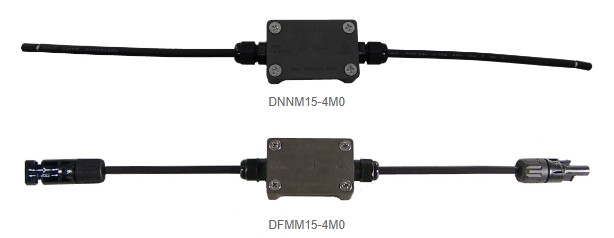 Blocking diode with and without solar connector