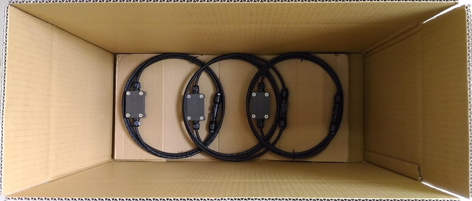 Blocking diode in carton box