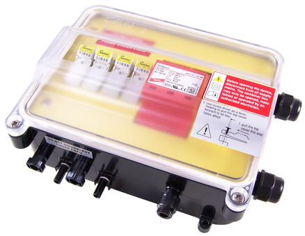jA2 solar DC combiner box
