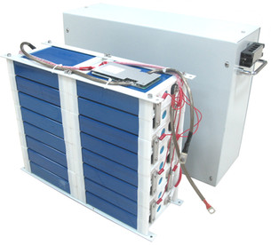 24V 48V battery module by enclosure