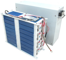battery module by enclosure