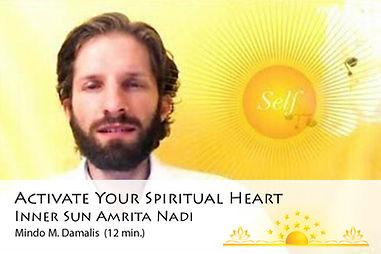 activate your spiritual heart inner sun amrita nadi