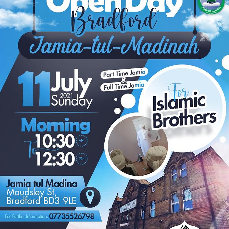 Bradford Open Day - Males