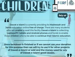 Lets educate our children campaign