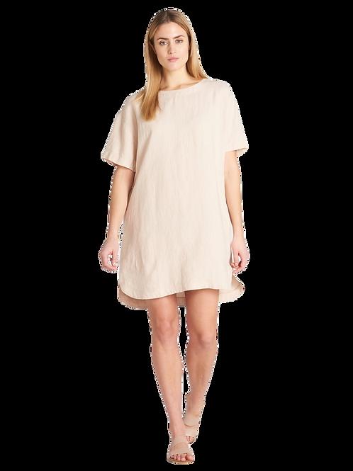 SARASTUS Ladies Short Linen Dress