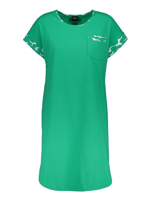PALLOLEHDET Ladies Short Sleepshirt