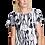 Thumbnail: KASVUSTO Ladies Short Lounge Dress