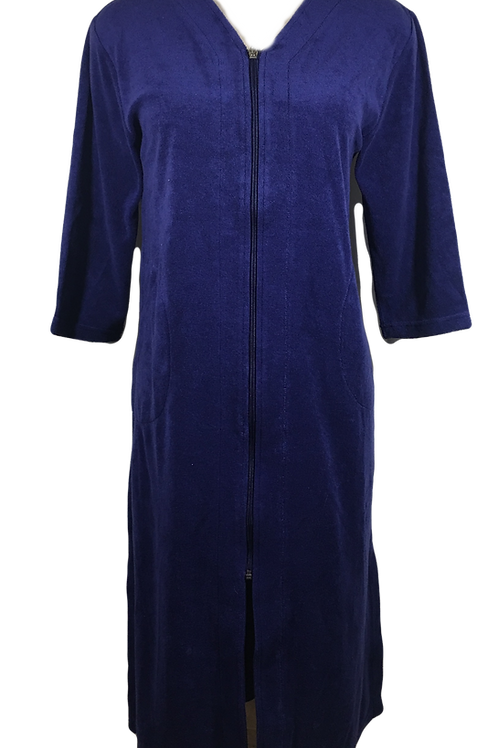 Ladies French Terry Robe with POCKETS