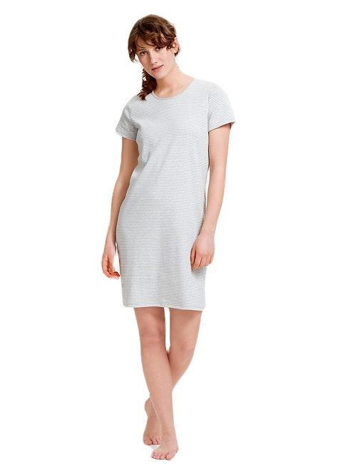 MUKAVA Ladies 100% Cotton Sleepshirt
