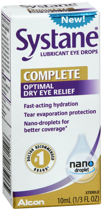SYSTANE COMPLETE OPTIMAL DRY EYE RELIEF - 10ML