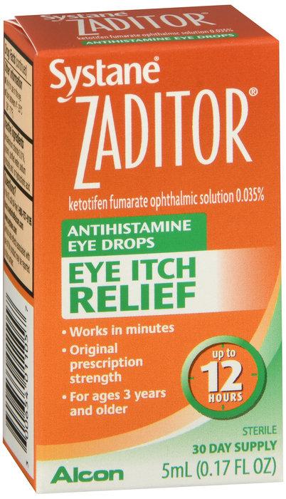 Zaditor Antihistamine Eye Itch Relief - 5mL