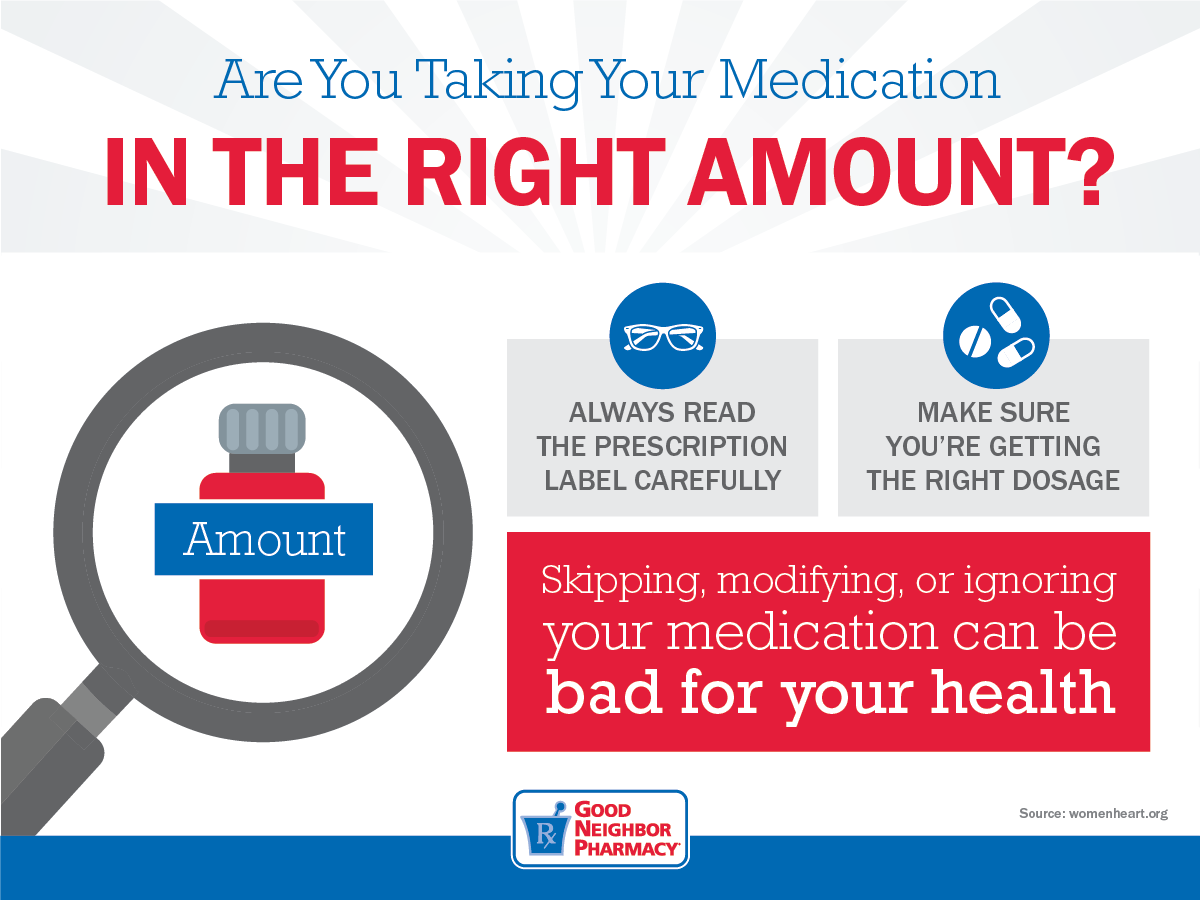 Are You Taking Your Medications In The Right Amount?