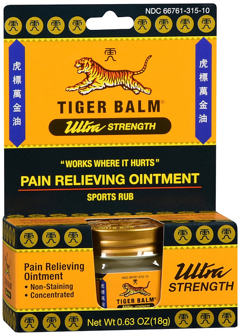 TIGER BALM OINTMENT ULTRA STRENGTH - 18GM