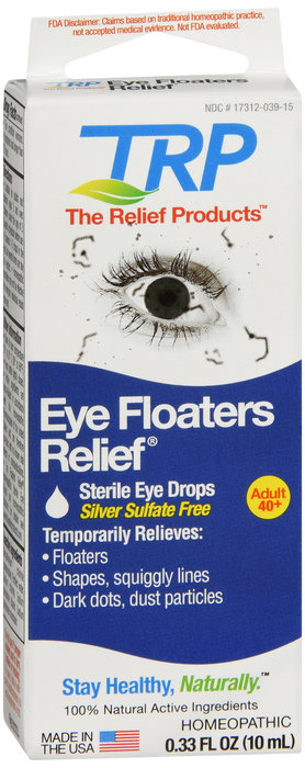 TRP Eye Floaters Relief Eye Drops - 10mL