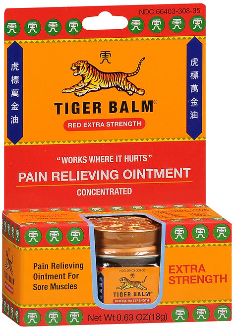 TIGER BALM EXTRA STRENGTH OINTMENT - 18GM